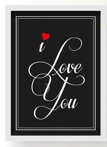 I Love You Poster-All About Wall